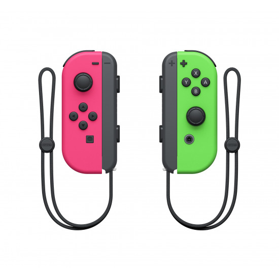 Nintendo Switch Joy Con Controller Green-pink