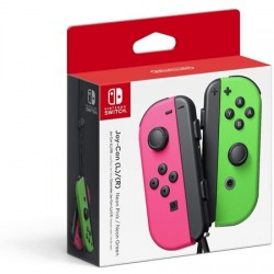 Nintendo Switch Joy Con Controller Green-pink