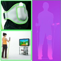 WII 2IN1 EV ACTIVE SPORTS PACK - LEG STRAP - RESISTANCE BAND