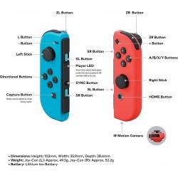 Nintendo Switch – Neon Red and Neon Blue Joy-Con - European