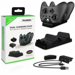 Dobe dual charging dock for xbox one S - X wireless controller