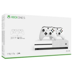 XBOX ONE S 500 GB USED + 2 HAND