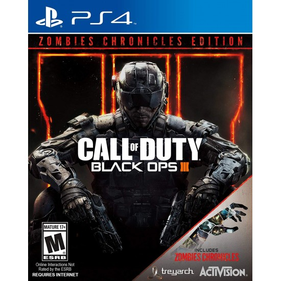 Call of Duty Black Ops III Zombie Chronicles - Arabic - PS4 - USED