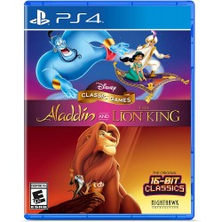 DISNEY CLASSIC GAMES - ALADDIN AND THE LION KING - PS4