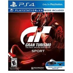 Gran Turismo Sport - PS4 - USED