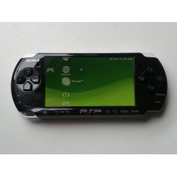 PSP Slim black used + memory 4GB