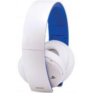 Headphones Gold Wireless Stereo Headset 2.0 White