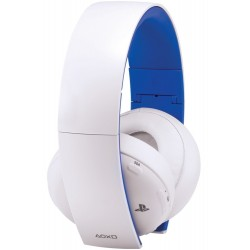 Headphones Gold Wireless Stereo Headset 2.0 White