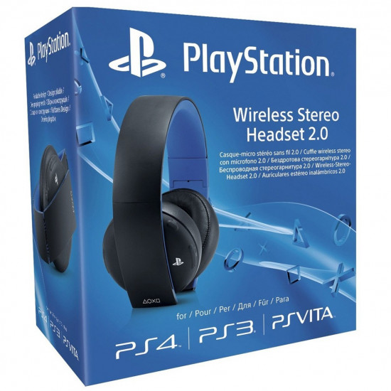 Sony PlayStation Wireless Stereo Headset 2.0 - Black