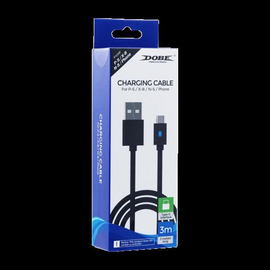 Dobe 3M Type-C USB Charging Cable