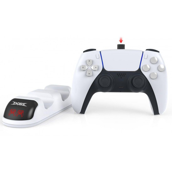 Dobe PS5 Controller Charging Dock for DualSense PlayStation 5 Controller