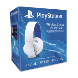 Sony PlayStation Wireless Stereo Headset 2.0 - White
