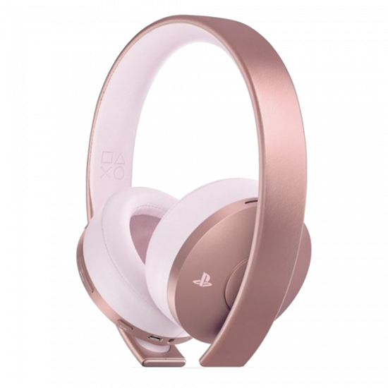 Sony PlayStation 4 Gold Wireless Headset, Rose Gold