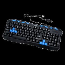 لوحة مفاتيح مالتيميديا للالعاب من فوريف FV-237، أسود