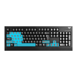 GAMING MECHANICAL KEYBOARD BLACK K 608