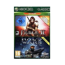 Fable 2 + halo wars Double pack Xbox 360