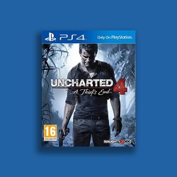 Uncharted 4 - PS4 - Arabic - USED