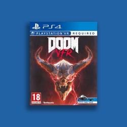 DOOM VFR PS4 GAME - PSVR REQUIRED