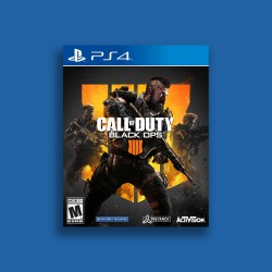 CALL OF DUTY BLACK OPS 4 ENGLISH PS4