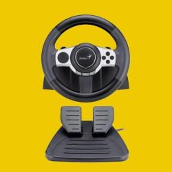 RACING WHEEL GENIUS F1 ( PS2 & PC )