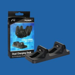 Dobe Dual Charging Dock Station Stand Charger for PS4 Controller