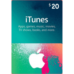 Apple iTunes Gift Card North America 20 USD iTunes
