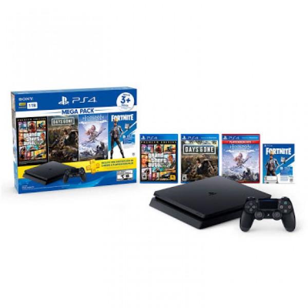 PS4 Slim 1TB Mega Pack 2