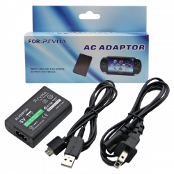 AC Adapter with USB cable for PS Vita