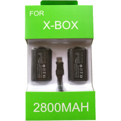 2pc 2800mah Rechargeable battery